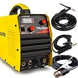 SUSEMSE TIG Welder Tig/Arc/Stick Tig Welding Machine High Frequency Dual Voltage 110/220V DC 200Amp Inverter IGBT MMA Digital Display TIG200A