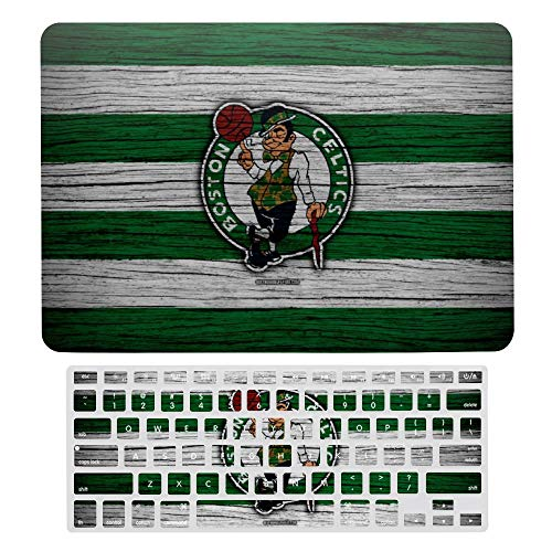 Boston Basketball Celtics MacBook Air 13 inch Case,Plastic Pattern Hard Case&Keyboard Cover Only Compatible with MacBook Air 13.
