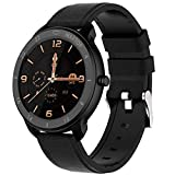 Smart Watch Android Compatible with iPhone Samsung, maxtop Bluetooth Android Smart Watches Waterproof, Smartwatch iPhone Fitness Activity Tracker with Monitor Heart Rate Sleep for Women Men (Black)