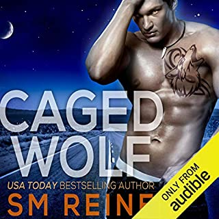 Caged Wolf: A Paranormal Romance audiobook cover art