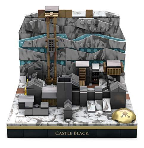 Mega Construx GNW37 - Mega Construx Probuilder Game of Thrones Die Schwarze Festung, Bauset mit 307 Teilen aus der erfolgreichen HBO- Fernsehserie, Spielzeug für Kinder und Sammler ab 16 Jahren