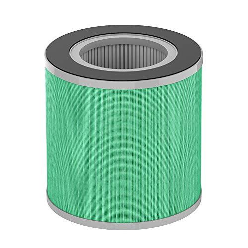 proscenic Filtro de hepa para purificador de Aire A8, Filtro de Efecto Especial de Personas alérgicas, Verde