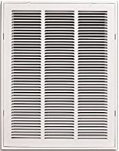 16 in. x 20 in. White Return Air Filter Grille TruAire 190RF