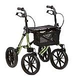 Dietz Taima XC Outdoor Rollator PU-bereift 150 kg belastbar 8,2 kg Leichtgewichtrollator Geländerollator -