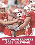 Wisconsin Badgers 2021 Calendar: American Football 2021 Calendar - Size 8.5x 11 inches