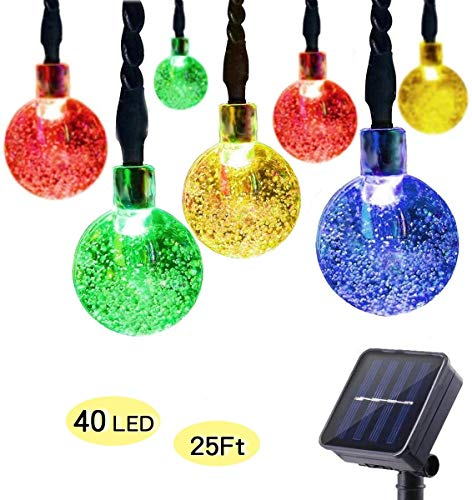 (70% OFF Coupon) 25 ft Solar String Lights $6.00