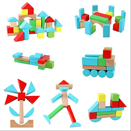 Affordable LS Building Blocks - Children's Building Blocks Boy Girl 1-6 Years Old Early Education To...