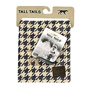 Tall Tails Dog Houndstooth Throw Blanket 40 X 60