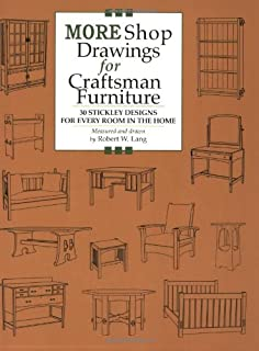 More Shop Drawings for Craftsman Furniture: 30 Stickley Designs for Every Room in the Home (Shop Drawings series)