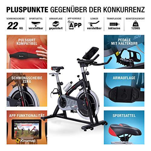 Sportstech Profi Indoor Cycle SX200 Hometrainer Fahrrad Bild 3*