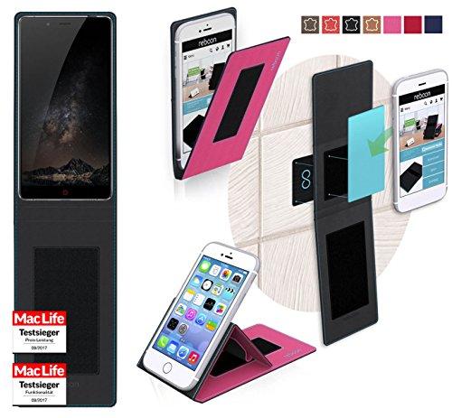 reboon Hülle für Nubia Z11 Max Tasche Cover Case Bumper | Pink | Testsieger