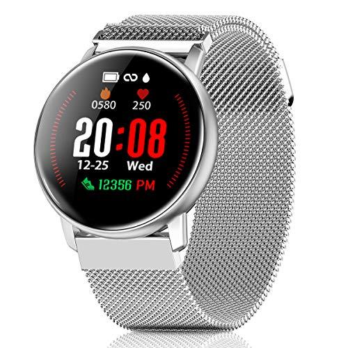 CanMixs Smartwatch, CM12 Reloj Inteligente Pulsera de Actividad Impermeable IP67...