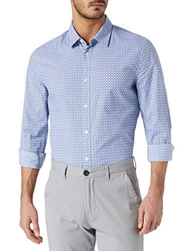 Pepe Jeans ALDERLEY Camisa, Multicolor (Multi 0AA), 41 (Talla del Fabricante: Large) para Hombre