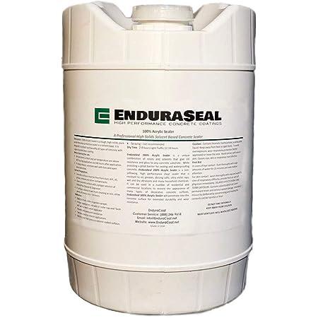 """EnduraSeal 100% Acrylic""""Wet Look"""" Semi Gloss Concrete Sealer Solvent Base - 5 Gallon"""