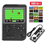 Etpark Handheld Game Console, Retro Mini Game Player with 400 Classical FC Games 2.8-Inch Color Screen Support for Connecting TV & Two Players 800mAh Rechargeable Battery Present for Kids and Adult