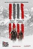 The Hateful Eight - Tarantino - Film Poster Plakat Drucken