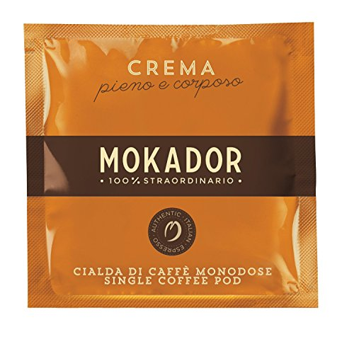 Mokador Crema Kaffee Espresso, 20 ESE Pads / Espresso Pods / Cialde, 140 g