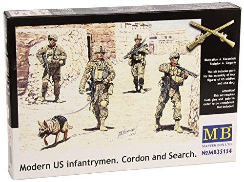 Masterbox MB35154 - 1/35 Moderne US Infanterie