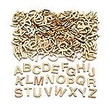 Baker Ross - Mini sagome in legno per lettere (confezione da 260) per decorare ed esporre i bambini