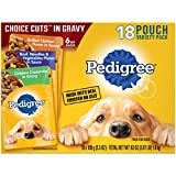 PEDIGREE CHOICE CUTS in Gravy Adult Soft Wet Meaty Dog Food Variety...