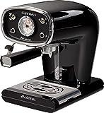 Ariete 1388 Caffè Retrò - Macchina per caffè espresso per polvere e cialda ESE, 15 bar, 850W, Dispositivo Maxi-Cappuccino, 1L, Nero