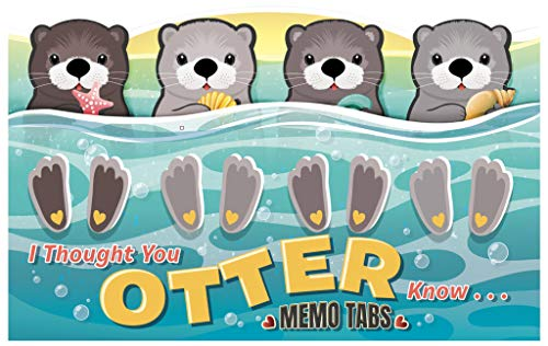 I Thought You'Otter' Know Memo Tab Set