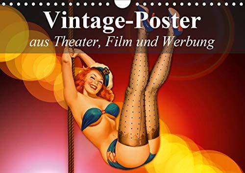 Vintage-Poster aus Theater, Film und Werbung (Wandkalender 2021 DIN A4 quer)