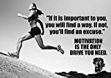 Motivational Athletics Poster # 605 Zitat Schild Poster