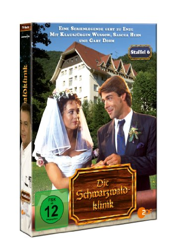 Die Schwarzwaldklinik, Staffel 6 (Digipack 4 DVDs)