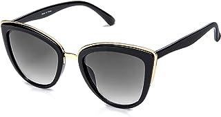 Retro Vintage Cat Eye Sunglasses for Women PC Metal Frame...