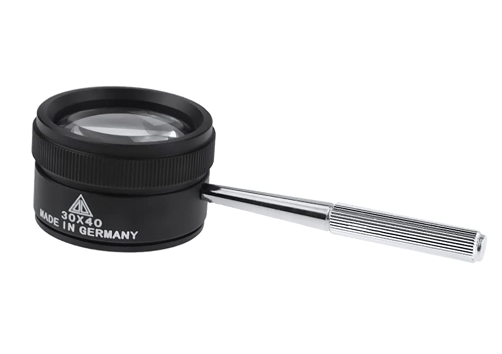 Handheld 30X Jewelry Loupe 40mm/1.6