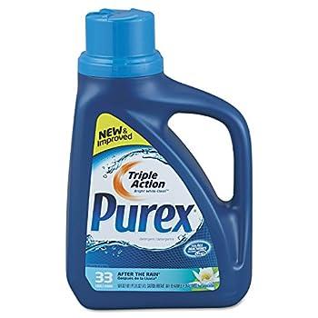 Purex 04789 Liquid HE Detergent After The Rain Scent 50oz Bottle 6/Carton