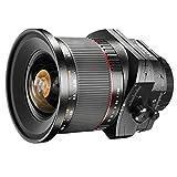 Walimex ED 24 mm f/3.5 AS UMC - Objetivo para Canon (distancia focal fija 24mm, apertura f/3.5-22, diámetro: 82mm) negro