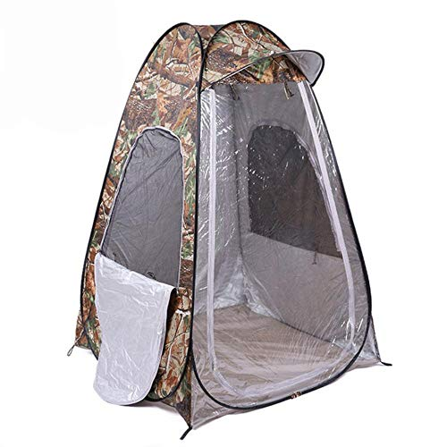 HLSX Camouflage Portable Privacy Shower Toilet Camping Pop Up Tent photography tent movable outdoor winter,Camouflage