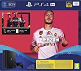 Sony PlayStation 4 Pro 1 To + FIFA 20 + PS Plus 14 jours, 1 Manette sans fil DUALSHOCK 4 V2,...