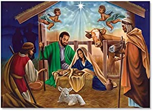 African American Expressions - Maya Angelou's Nativty Boxed Christmas Cards (5