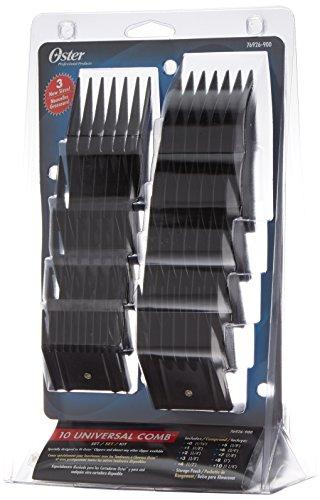 Oster Type 76926-900 Set de 10 Peignes pour Tondeuse à Cheveux