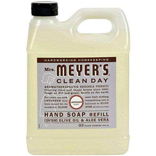 Mrs. Meyer's Liquid Hand Soap Refill Lavender, 33 FL OZ (Pack - 2)