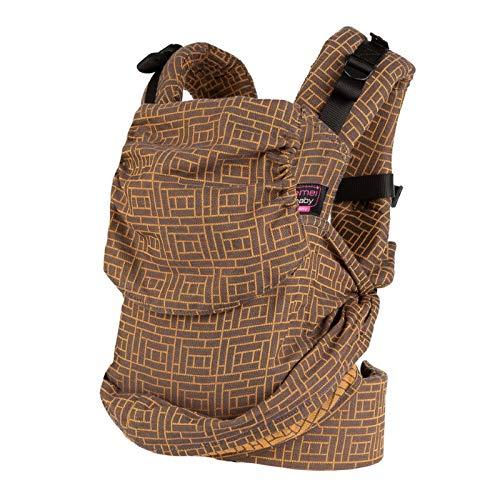 Easy Emeibaby Full Tiles Ochre - Mochila portabebés