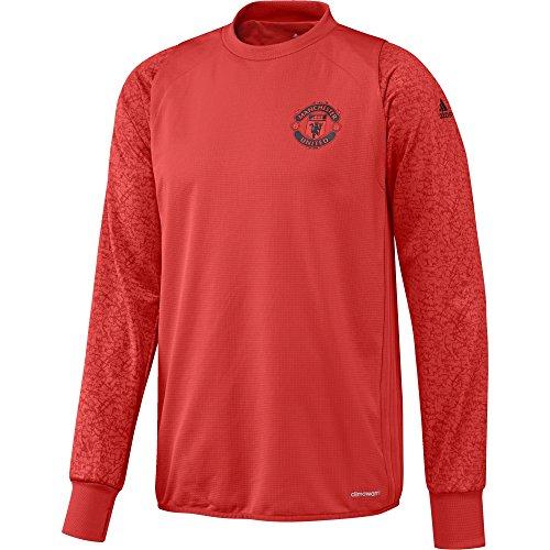 adidas Manchester United FC EU TRG Top - Sweatshirt für Herren, Farbe Rot, Größe M
