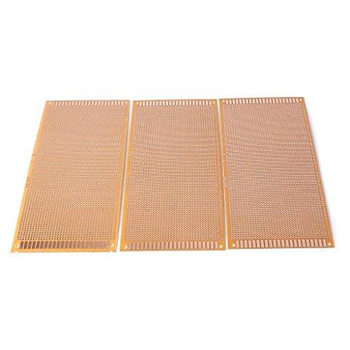 FXCO 3 Leiterplatte, Bedruckt, 22 cm x 10 cm, PCB-Karte, PCB-Mainboard