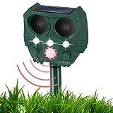 Repelente ultrasónico de Mosquitos para Gatos, Repelente Solar de Ratones para...