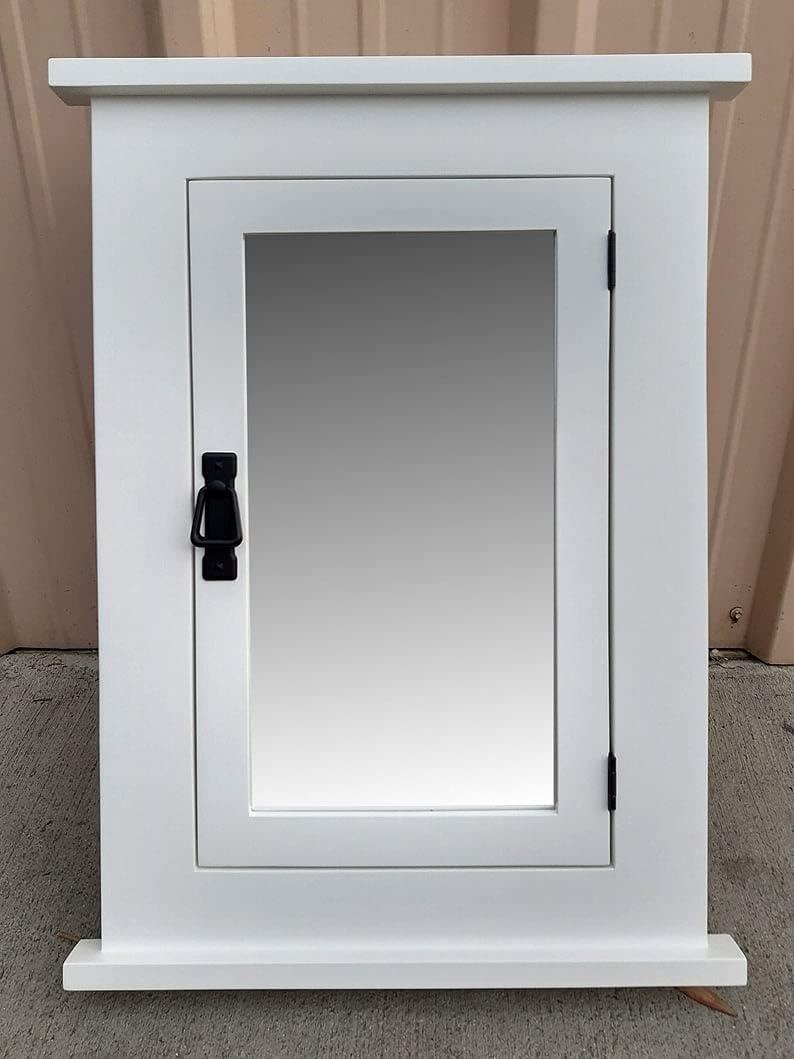 Genuine White Mission Recessed Medicine 2021 spring and summer new Hardware Cabinet Black