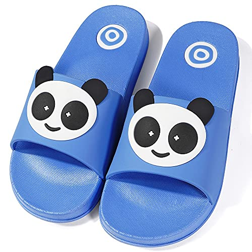 Scarpe da Spiaggia e Piscina Bambina Pantofole da Bagno Ragazze Ragazzi Ciabatte da Spiaggia Bambini Pantofole Sandali D-Blue 30-31 EU= Produttore :31-32