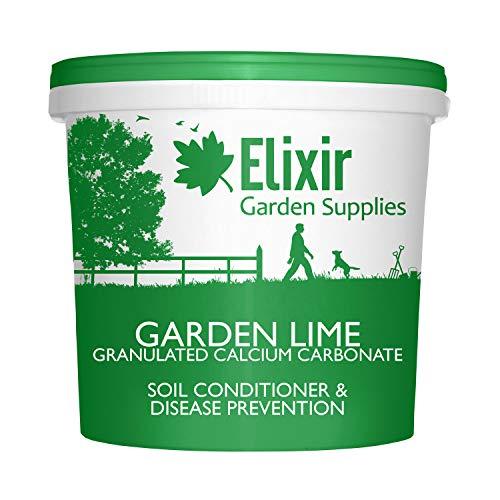 Elixir Gardens  Garden Lime Granular Soil pH Improver Bucket 25kg