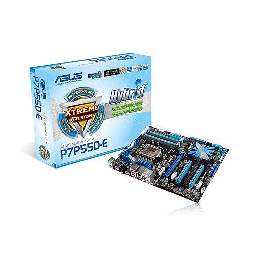 ASUS P7P55D-E Mainboard Sockel LGA1156 DDR3 Speicher USB 3.0 SATA 6Gb/s ATX