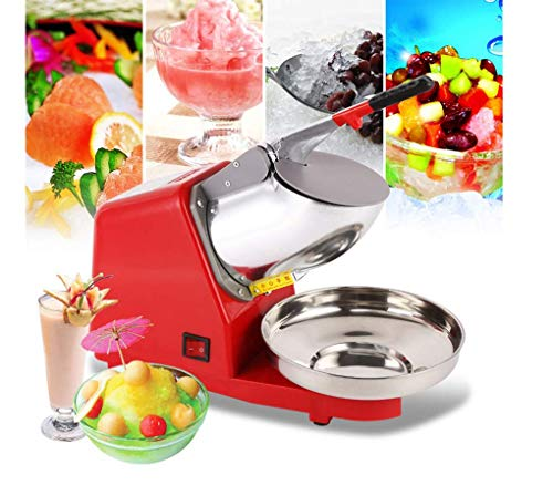 Cheapest Prices! Professional Ice Crusher Electric Ice Shaving Machine Ice Cream Stainless Steel Sno...