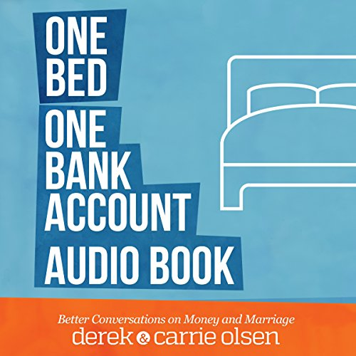 One Bed, One Bank Account audiobook cover art