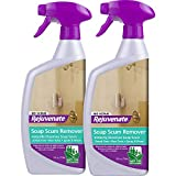 Rejuvenate Scrub Free Soap Scum Remover Shower Glass Door Cleaner Works on Ceramic Tile, Chrome, Plastic and More (2 Bottles x 24oz)