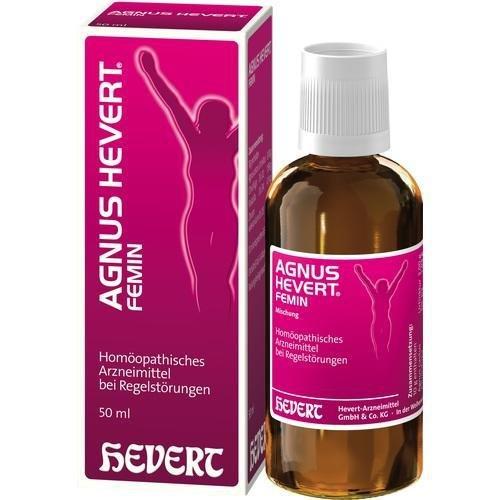 AGNUS HEVERT Femin Tropfen 50 ml